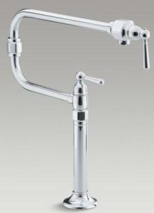 Kohler Tap 7323W-4-BS - Brushed Stainless Steel