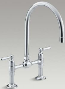 Kohler Tap 7337W-4-BS - Brushed Stainless Steel
