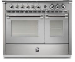 Steel Range Cooker Dual Fuel A10FF-6W-SS - Stainless Steel