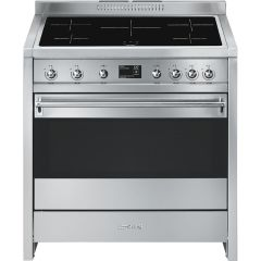 Smeg Range Cooker Induction A1PYID-9 - Stainless Steel