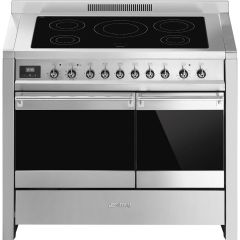 Smeg Range Cooker Induction A2PYID-81 - Stainless Steel