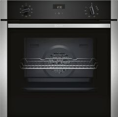 NEFF Single Oven Electric B1ACE4HN0B - Stainless Steel / Black