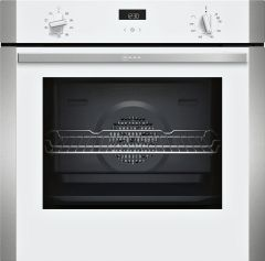NEFF Single Oven Electric B1ACE4HW0B - White / Stainless Steel