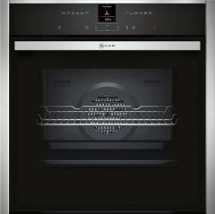 NEFF Single Oven Electric B27CR22N1B - Stainless Steel