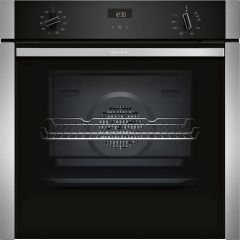 NEFF Single Oven Electric B3ACE4HN0B - Stainless Steel / Black