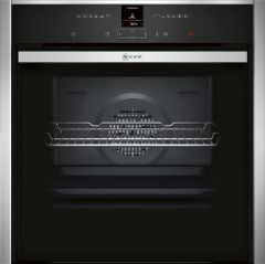 NEFF Single Oven Electric B47CR32N0B - Stainless Steel
