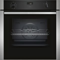 NEFF Single Oven Electric B4ACF1AN0B - Stainless Steel / Black