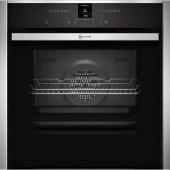 NEFF Single Oven Electric B57CR22N0B - Stainless Steel