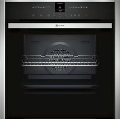 NEFF Single Oven Electric B57VR22N0B - Stainless Steel