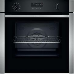 NEFF Single Oven Electric B5ACH7AH0B-EX-DISPLAY - Stainless Steel