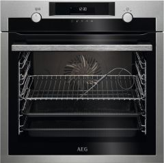 AEG Single Oven Electric BCE558070M - Stainless Steel
