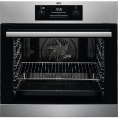 AEG Single Oven Electric BES25101LM - Stainless Steel