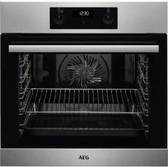 AEG Single Oven Electric BES255011M - Stainless Steel