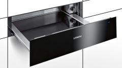 Siemens Warming Drawer BI630CNS1B - Black / Stainless Steel
