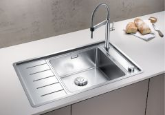 Blanco 1.0 Bowl Sink BLANCOANDANO-XL-6-S-IF-COMPACT-LHB - Stainless Steel