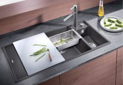 Blanco 1.5 Bowl Sink BLANCOAXIA-III-6S-RHB - Various Colours