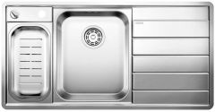 Blanco 1.5 Bowl Sink BLANCOAXIS-III6S-IF-LHB - Stainless Steel