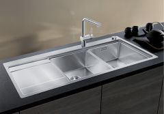 Blanco 2.0 Bowl Sink BLANCODIVON-II-8S-IF-LHB - Stainless Steel