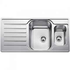 Blanco 1.5 Bowl Sink BLANCOLANTOS-6S-IF-CENTRIC - Stainless Steel