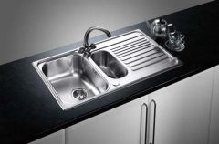 Blanco 1.5 Bowl Sink BLANCOTIPO-6S - Stainless Steel