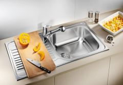 Blanco 1.0 Bowl Sink BLANCOTIPO-XL-6 - Stainless Steel