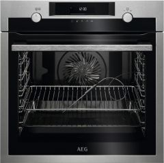AEG Single Oven Electric BPE558070M - Stainless Steel