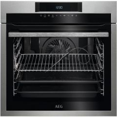 AEG Single Oven Electric BPE742320M - Stainless Steel