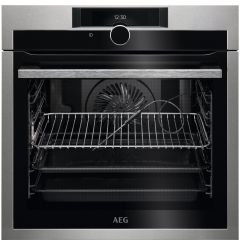 AEG Single Oven Electric BPE842720M - Stainless Steel