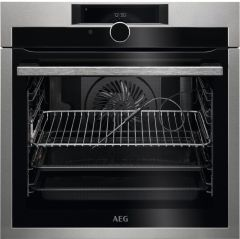 AEG Single Oven Electric BPE948730M - Stainless Steel