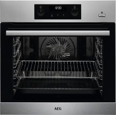 AEG Single Oven Electric BPS355020M - Stainless Steel