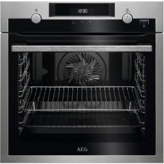 AEG Single Oven Electric BPS555020M - Stainless Steel