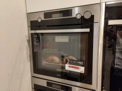 AEG Single Oven Electric BSE577221M-EX-DISPLAY - Stainless Steel