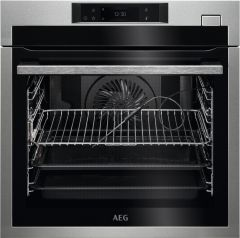 AEG Single Oven Electric BSE778380M - Stainless Steel