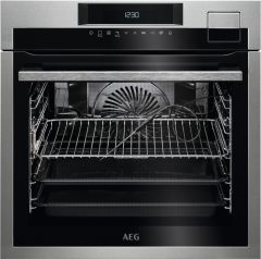 AEG Single Oven Electric BSE792320M-EX-DISPLAY - Stainless Steel
