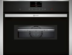 NEFF Combi Microwave C17MS32H0B - Black / Stainless Steel