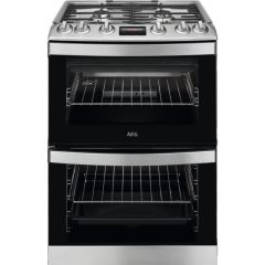 AEG Slot In Cooker Gas Nat CGB6133CCM - Stainless Steel