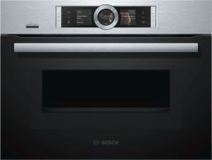 Bosch Combi Microwave CMG676BS6B - Stainless Steel