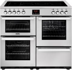 Belling Range Cooker Ceramic COOKCENTRE-100E-PRO - Stainless Steel