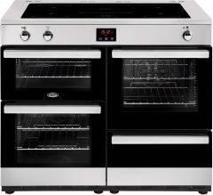 Belling Range Cooker Induction COOKCENTRE-100EI-PRO - Stainless Steel