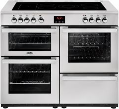 Belling Range Cooker Ceramic COOKCENTRE-110E-PRO - Stainless Steel