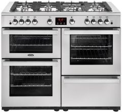 Belling Range Cooker Nat Gas COOKCENTRE-110G-PRO - Stainless Steel