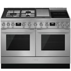 Smeg Range Cooker Dual Fuel CPF120IGMPX - Stainless Steel