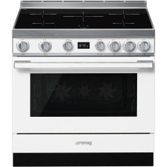 Smeg Range Cooker Induction CPF9IPWH - White