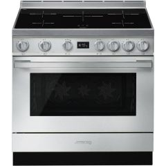 Smeg Range Cooker Induction CPF9IPX - Stainless Steel