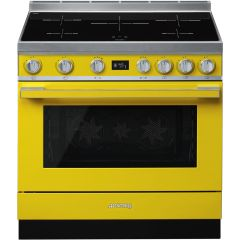 Smeg Range Cooker Induction CPF9IPYW - Yellow