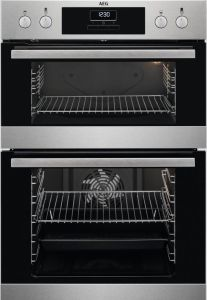 AEG Double B/I Oven Electric DCB331010M - Stainless Steel