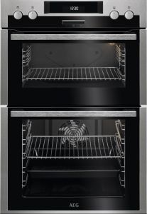 AEG Double B/I Oven Electric DCS431110M - Stainless Steel