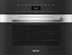 Miele Steam Combi Oven DGC7440-CLST - Clean Steel