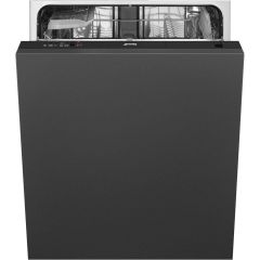 Smeg Built In 60 Cm Dishwasher Fully DI12E1 - Fully Integrated