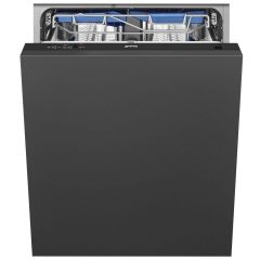 Smeg Built In 60 Cm Dishwasher Fully DI13EF2 - Fully Integrated